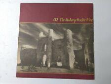 U2-The Unforgettable Fire Vinyl LP 1984