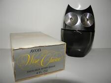Vintage AVON 1969 WISE CHOICE EXCALIBUR AFTER SHAVE OWL Decorative Decanter
