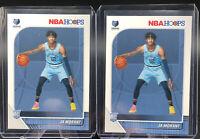2x Ja Morant Rookie Memphis Grizzlies 2019-20 Panini NBA Hoops #259