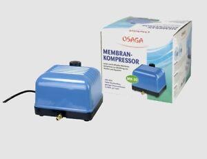 OSAGA Membrankompressor MK-30  Belüftung 24 Std. Vers.
