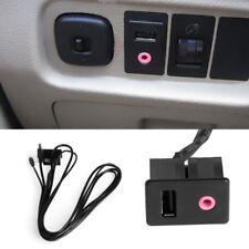 Cavo adattatore prolunga jack 3.5mm USB autoradio stereo auto ingresso AUX audio