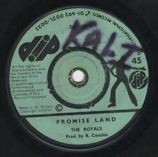 """Royals – Promise Land / Every Jamaican Is A Rebel ORIG UK 7"""" DIP 1974 ROOTS"""