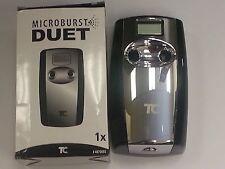 Microburst Duet Dispenser Metered White/Gray