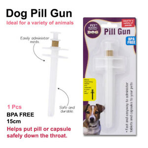 Piller Pusher Pet Dog Cat Popper Gun Capsule Tablet Pill Medication Syring nice