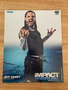 JEFF HARDY OFFICIAL 2013 TNA WRESTLING 8X10 PROMO PHOTO UNSIGNED WWE ECW AEW ROH