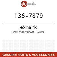 Exmark 136-7879 Voltage Regulator with Harness Quest Radius E S Series 127-9219