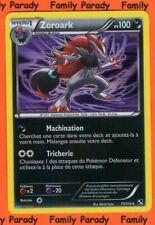 Zoroark HOLO 100pv 71/114 Noir et Blanc Carte Pokemon Rare neuve FR