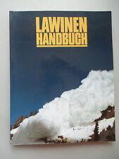 Lawinen Handbuch 1991 Lawinen