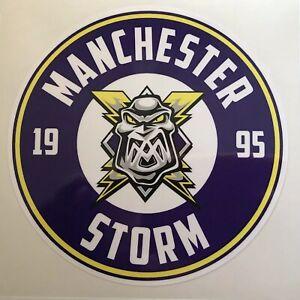Manchester Storm Printed Vinyl Sticker