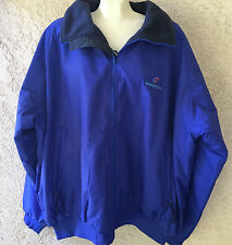Tri Mountain Heavy 8800 Mountaineer Toughlan Nylon Zipper Blue Winter Jacket 4XL