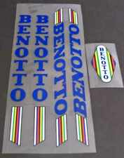 Benotto Bicycle Decal Set - Blue (sku Beno-S104)