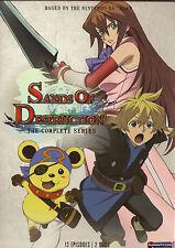 Sands Of Destruction:Complete Series.Fantasy Anime.New!