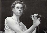 BOB GELDOF PHOTO LIVE AID 1985 HUGE 12 INCH UNRELEASED UNIQUE IMAGE 1985 RAREGEM