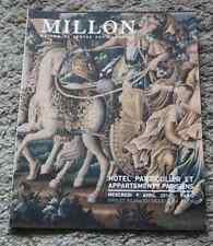 CATALOGUE VENTE 2014 Drouot Millon appart parisien Hôtel particulier tableaux ..