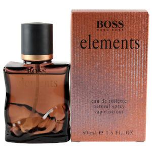 Elements by Hugo Boss Eau De Toilette Spray for Men 1.6 oz New In Box