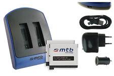 Chargeur double (USB) + 2x Batterie AHDBT-401 / AHDBT401 pour GoPro Hero 4