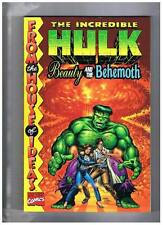 Marvel The Incredible Hulk Beauty & The Behemoth TPB 1998