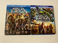 Teenage Mutant Ninja Turtles 1 & 2 w/ Slipcover (Bluray) [BUY 2 GET 1]