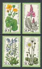 Germany Flowers Postal Stamps