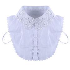 Japanese And Korean Shirt Collar Organza Embroidery Hollow Fake Collar New 889