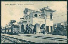 Napoli Portci Bellavista Stazione Circumvesuviana Treno cartolina KF2212