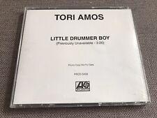 TORI AMOS - Little Drummer Boy Atlantic US Promo CD (Rare)