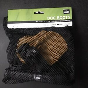 rei co-op Dog Boot for hiking outdoor size large yellow EUC fast free shipping