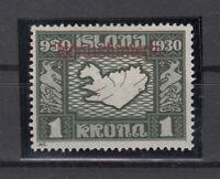 BB5677/ ICELAND – OFFICIAL – MI # D55 MINT MH - CV 415 $
