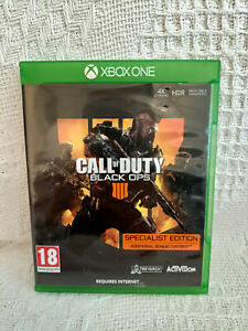 CASE ONLY!! Call of Duty Black Ops 4 - Specialist Edition Xbox One - CASE ONLY!!