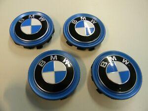 Neu 4 BMW 2er 5er 7er i3 i8 x1 x2 Embleme Nabendeckel Felgendeckel 56mm 6852052