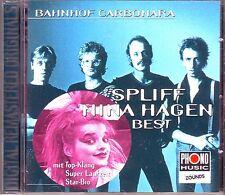 ZOUNDS - SPLIFF NINA HAGEN - Bahnhof Carbonara - Best - rare audiophile CD 1997