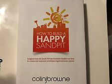 How to Build a Happy Sandpit by Colin J. Browne (Hardcover) Very Good