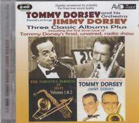 Tommy Jimmy Dorsey Three Classic Albums Fabulous Dorseys Vol 1 & 2 Great TD 2CD