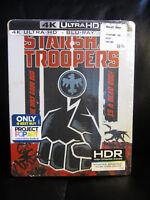 Starship Troopers 4K UHD + Blu-Ray + Digital HD Steelbook New Sealed Sci-Fi