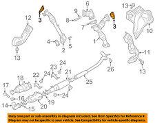 NISSAN OEM 16-18 Titan XD 5.0L-V8-Exhaust Pipe Gasket Right 14038EZ40A