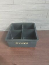 CHIVAS REGAL WHISKEY LARGE SILICONE ICE CUBE TRAY , 4 ICE CUBE 6x6x6 cm New