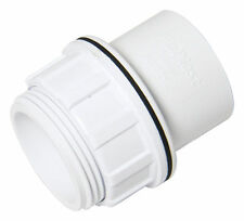 """FloPlast 32mm 1.1/4"""" White Tank Connector Washer ABS Solvent Waste Weld System"""