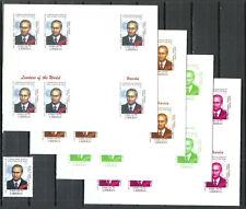 Stamp + 4 Imperf Blocs MNH Michel 3400 Russia President Vladimir Putin