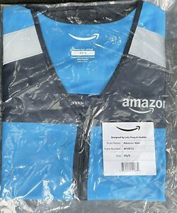 **BRAND NEW** Amazon DSP Flex Delivery Driver Safety Vest - Reflective Size XS/S