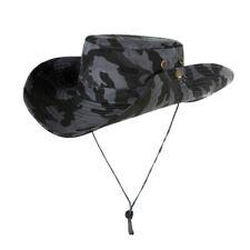 Bucket Hat Boonie Safari Fishing Outdoor Unisex Cap Wide brim Sun UV Cap Hat