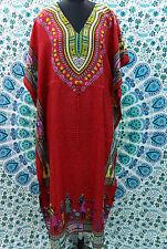 Boho Hippy African Women Kaftan Dress Dashiki Maxi Gown 1 size Plus Caftan Dress