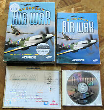 European Air War (PC CD-ROM) Original Boxed Release - V.G.C.