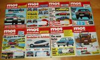 8x MOT 1977 1979 auto-journal Oldtimer Automobile Sammlung Zeitschriften Sammlun
