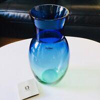 🔴 Alfredo BARBINI raro vaso in vetro di Murano originale Acid firm anni 70