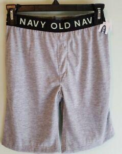 NEW Old Navy Boys Pajama Shorts 5 6-7 8 10-12 Sleep Lounge GRAY #8321