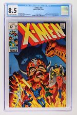 X-Men #51 - Marvel 1968 CGC 8.5 1st Appearance of Erik the Red (cameo). Magneto,