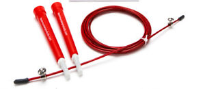 Black Mountain Products Red Speed Jump Rope Cable - SUPER LIGHTWEIGHT, PRECISION