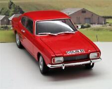 PERSONALISED PLATE GIFT 18cm 1/24 Red Ford Capri Model Boy Dad Xmas Present Box