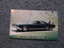 1966 Oldsmobile Postcard