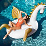 Inflatable Pool floats for Adults and Kids with Outdoor Swimming Pool Party Toys